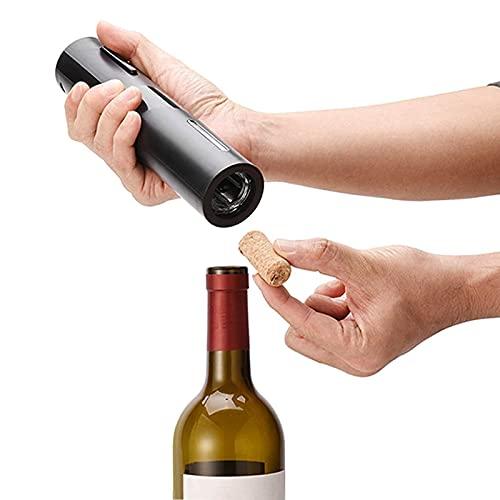 Cavatappi Elettrico,Apribottiglie Elettrico con Taglierina Facile, Apribottiglie di Vino Apribottiglie Vino Cavatappi Elettrico per Vino
