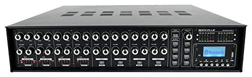 Rockville Rock 4 Zone 70 Volt Commercial Amplifier+Matrix Source Routing