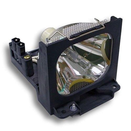 Alda PQ-Premium, Beamerlampe / Ersatzlampe kompatibel mit TLP-X10, TLP-LX10, 75016586 für Toshiba TLP-X11, TLP-X20, TLP-X21, TLP-X10 Projektoren, Lampe mit Gehäuse