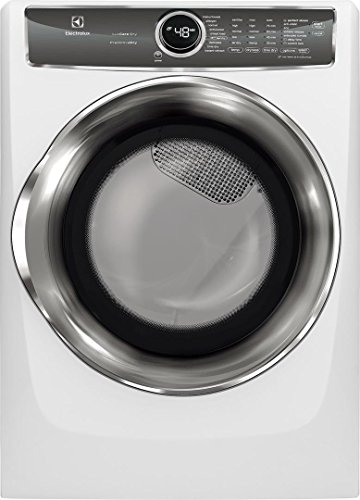 Electrolux EFME627UIW 27 Inch Electric Dryer with 8 cu. ft. Capacity, 9 Dry Cycles, in White