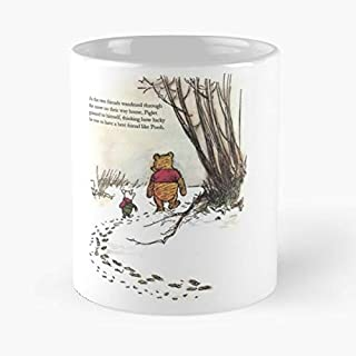 Winnie The Pooh Bear Quote - Handmade Funny 11oz Mug Best Holidays Gifts For Men Women Friends.