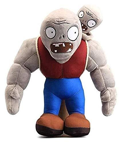 WUTONG Plantas vs. Zombies Juguete 32 cm de peluche gigante zombi juego muñeca de plantas para niños vs zombis juguetes de peluche lindos peluches