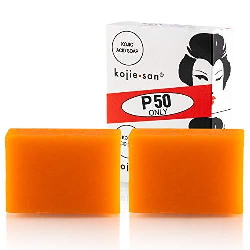 Original Kojie San Facial Beauty Soap - 65g, 2 Bars Per Pack - Guaranteed Authentic