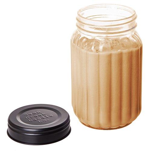 Swan Creek 24oz Homespun Jar Roasted Espresso 100% American Soybean Wax Candle
