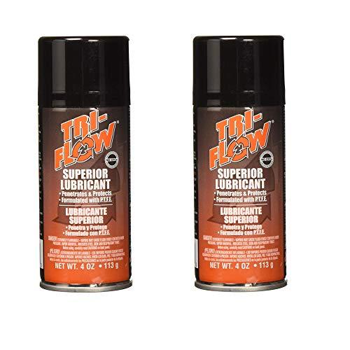 Krylon 20009TF Products Tri-Flow Superior Lubricant Spray, 4 Oz, 4oz, Brown - 2 Pack