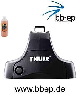 Thule Alu Dachträger 90422948 mit Neuer WingBar Traverse Komplet System inkl. Schloss für Toyota Aygo mit normalem Dach   inkl. 1 l Kroon Oil ScreenWash