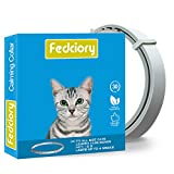 Fedciory Calming Collar for Cats, Adjustable Relieve Reduce Anxiety Pheromone Your Pet Lasting...