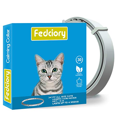 Fedicory Calming Collar for Cats