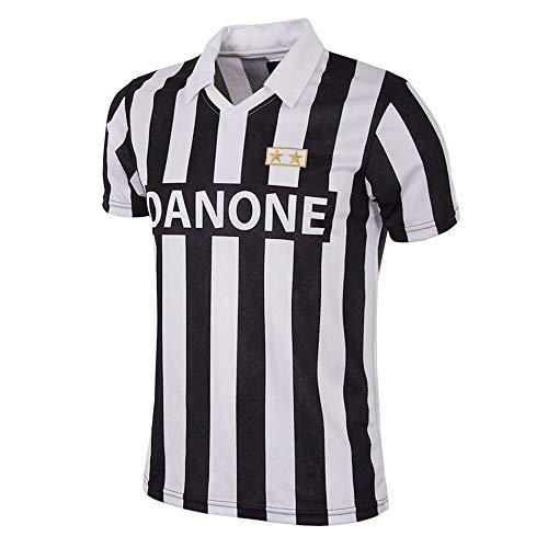 Juventus Maglia Storica Finale Coppa UEFA 1993-100% Prodotto Ufficiale - Uomo - Scegli la Taglia (Taglia XXL)