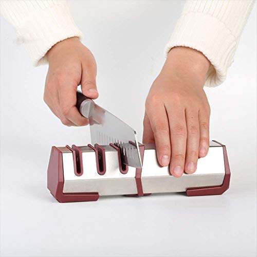 3 Stage Kitchen Knives Sharpening Tool, Helps Repair Stainless Steel Bread Knife Pocket Knife