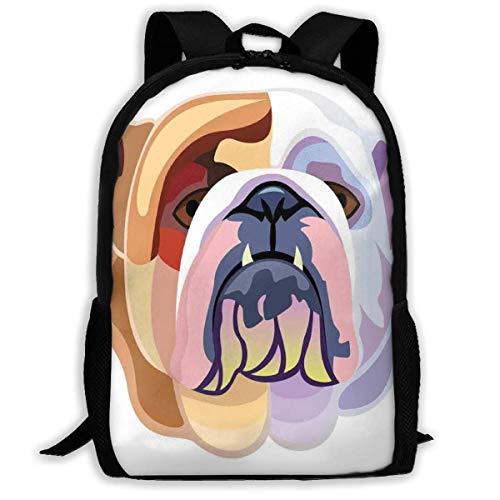 KDRW Adult Travelc Laptop-Rucksack, Unterwasserwelt mit Fisch-Silhouetten, die im Meer kreisen Surreal Ocean Life Print, College School Computer Bookbag