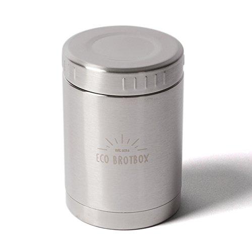 ECO Brotbox | BO | Isolierbehälter aus Edelstahl, auslaufsicher | 500 ml