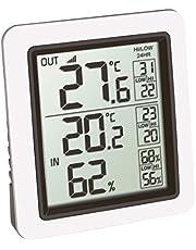 TFA Dostmann trådlös termometer INFO, 30.3065.02, vit