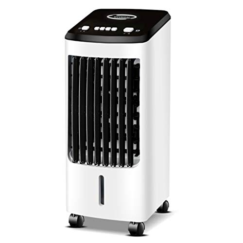 RJLI Climatizadores evaporativos Enfriador De Aire con Mando A Distancia,evaporativo Portátil,Purificador De Aire para Viviendas Y Oficinas,70W,3 Velocidades,4 litros