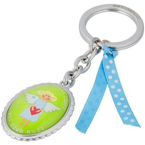 Gift Company Schutzengel, Schlüsselanhänger mit Message, grün