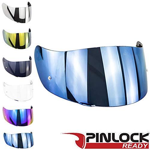 Visi/ère Agv K3 K4 K4 Evo Visi/ères Casques Transparent Fume Bleu Miroir Toutes Les Tailles Aftermarket Iridium