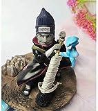 Huhu Anime Naruto Shippuden Akatsuki GK Hoshigaki Kisame Escena Estatua PVC acción Figure14Cm Modelo...