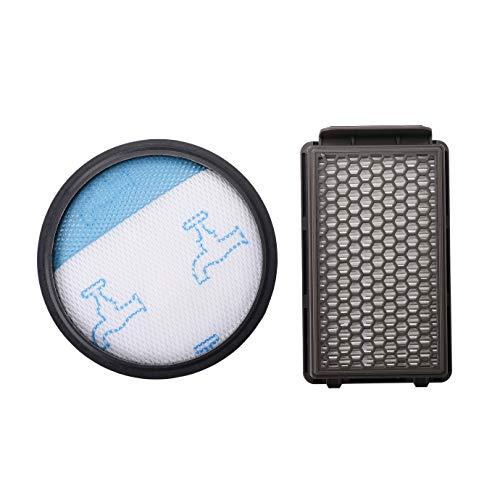 Yolando Kit de Filtro de Espuma y Filtro HEPA para Rowenta/Tefal/Moulinex Compact Power Cyclonic Aspiradoras
