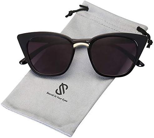 SOJOS Cat Eye Designer Sunglasses Fashion UV400 Protection Glasses SJ2052 with Black Frame Gradient product image