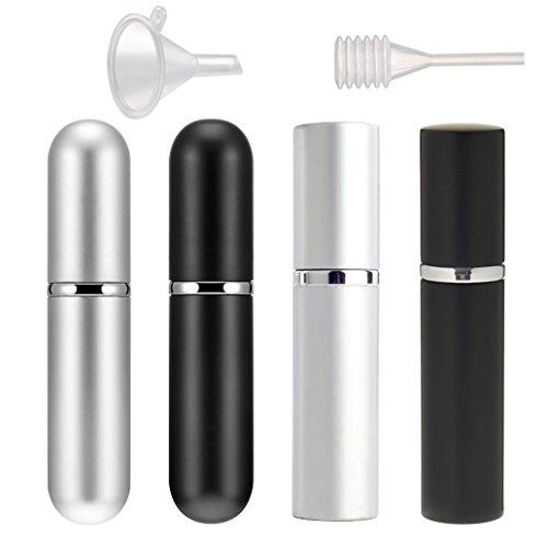 4 Pieza Perfume Atomizador Botella 5ml 6ml Perfume