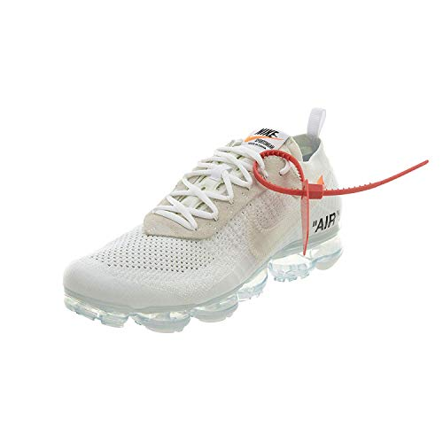 Nike Air Vapormax x Off White - White/Black-Total Orange Trainer Size 7.5 UK