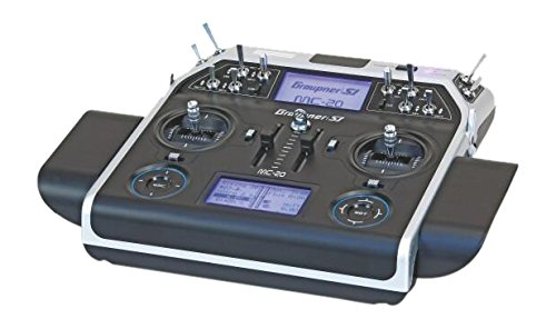 Graupner 33020.16.EN - Radio Digitale mc-20 HoTT, 12 Canali GB