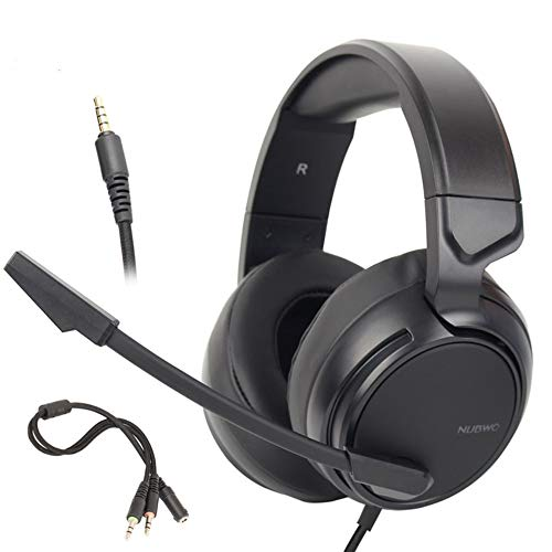 N9 PS4 Gaming Headset Best PC Gamer Casque Stereo Gaming Headphones with Mic for Laptop/Nintendo Switch