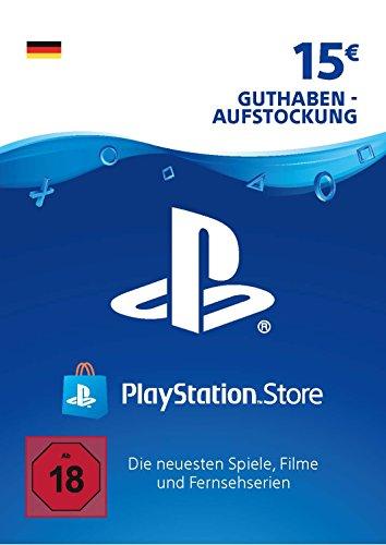 PSN Guthaben-Aufstockung | 15 EUR | deutsches Konto | PSN Download Code