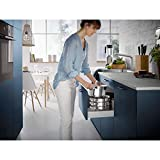 WMF Compact Cuisine Topfset Induktion 4-teilig, Kochtopf Set mit Glasdeckel, Cromargan Edelstahl poliert, Töpfe Set unbeschichtet, Innenskalierung - 11
