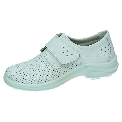 Zapatos Profesionales Muy cómodos, Unisex LUISETTI Zapato Sanitario 0025Berlin Talla 38 Color Blanco