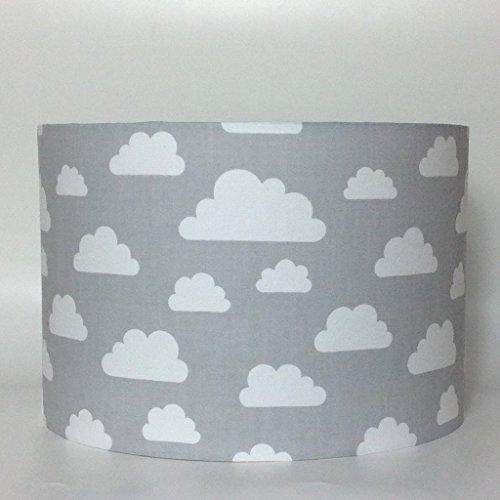 Plafonnier gris avec nuages blancs