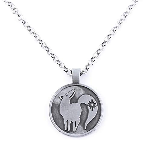 EOGAIL The Seven Deadly Sins Anime Figure Cosplay Tattoo Necklaces, Cosplay Prop Round Animal Tattoo Fashion Colorful Link Hanging Ornament