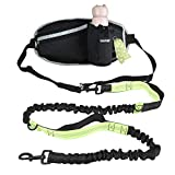 GUIFIER Hands Free Dog Running Lead with Wide Back Support B