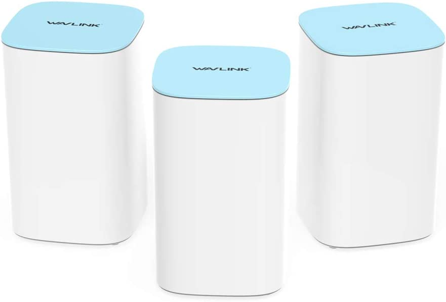 WAVLINK Whole Home Mesh WiFi System,AC3000 Tri-Band Gigabit Smart Mesh Wi-Fi Router (3-Pack)