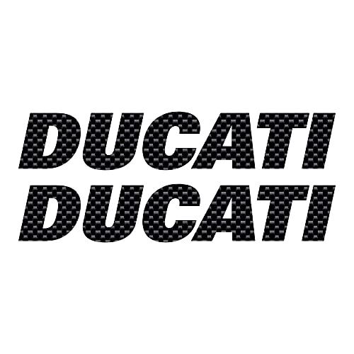 Kit 2 Adhesivos para Depósito Moto Compatible con Ducati