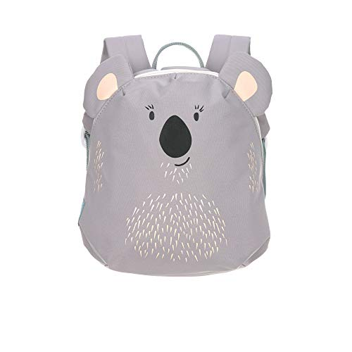 LÄSSIG Kleiner Kinderrucksack für Kita Kindertasche Krippenrucksack mit Brustgurt/Tiny Backpack, 20 x 9 x 24 cm, 3,5 L, Koala