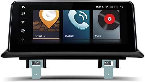 """10.25""""Android 10 Estéreo para automóvil Qualcomm Bluetooth 5.0 Pantalla IPS Navegación GPS Admite CarAutoPlay DVR Cámara de Respaldo WiFi para BMW 1 Series E81 / E82 / E87 / E88 (2006-2012)"""
