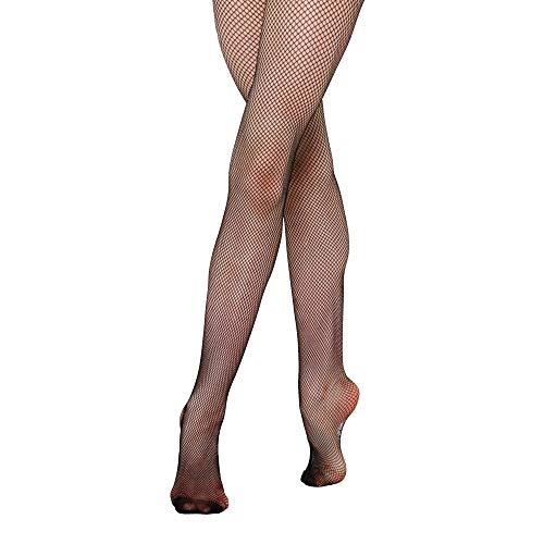 Silky Damen Dance Netzstrumpfhose (XL (Körpergröße 167-177 cm)) (Schwarz)