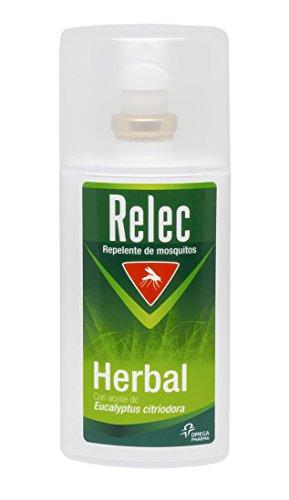 Relec Herbal Spray Repelente Eficaz Antimosquitos con Ingredientes de Origen Natural - 75 ml