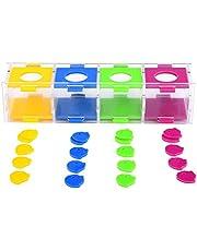 HEEPDD Bird Intelligence Training Toy, interaktywna zabawka do gry z kasetą na monety z podziałem kolorów do pet Supplies