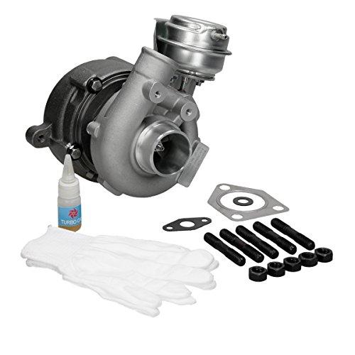 ECD Germany TL20-8167 Turbolader Abgas-Turbo-Lader Abgasturbo inkl. Unterdruckdose