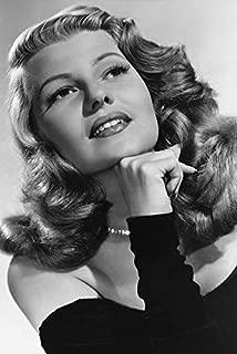 Rita Hayworth Stunning 24x18 Poster Studio Portrait Black Dress
