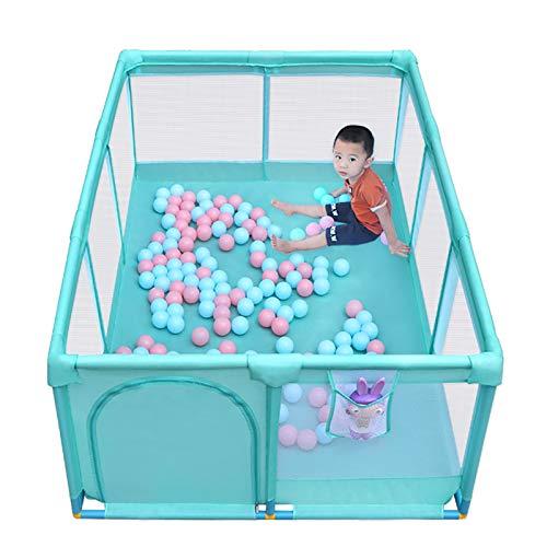 SYJH Parque Infantil Bebe corralito, Patio De Juegos De Seguridad En Casa para Interiores Al Aire Libre, Centro De Actividades Fuerte Y Duradero(Size:120×180×66cm)