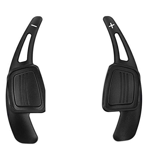 TPHJRM Alargador de palanca de cambio de volante de aleación de aluminio para coche, compatible con Audi A4L A5 Q7 TT TTS S4 Q2 S3 2015 2016 2017