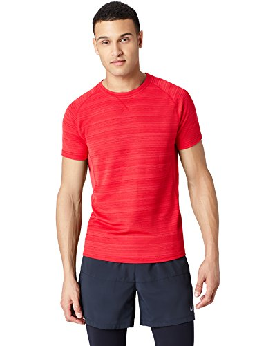 find. Herren T-Shirt Short Sleeve_sport Tops, Rot (Red), M, Label: M