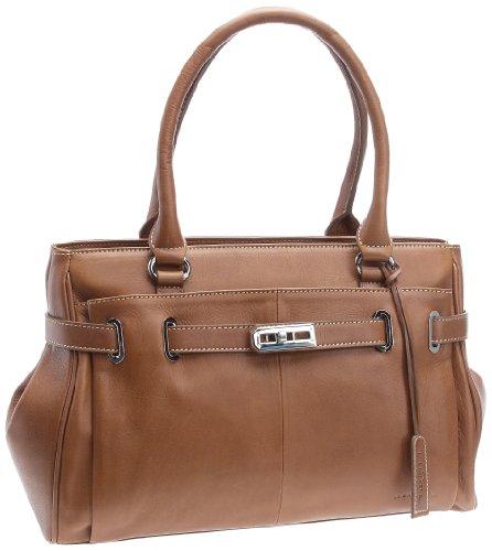 La Bagagerie Diane, Damen Handtasche, Kamel, Einheitsgröße