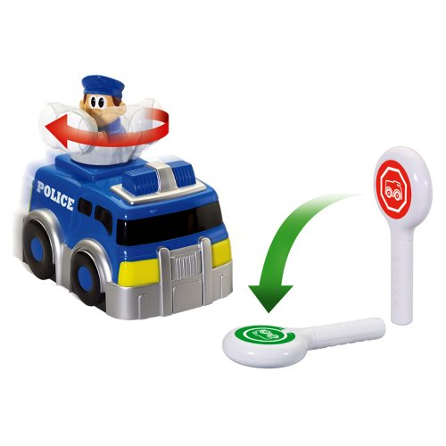 Kid Galaxy 147524 My 1st RC Truck Police SpinNGo