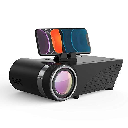 Mini proyector WIFI 5500 lúmenes LCD LED Pantalla fundida Auricular Bluetooth Sonido Teléfono inalámbrico Misma pantalla Full HD 1080P