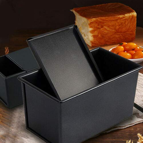 KuierShop(TM) Non-Stick Toast Box Bread Loaf Pan Mold with Baking Tool