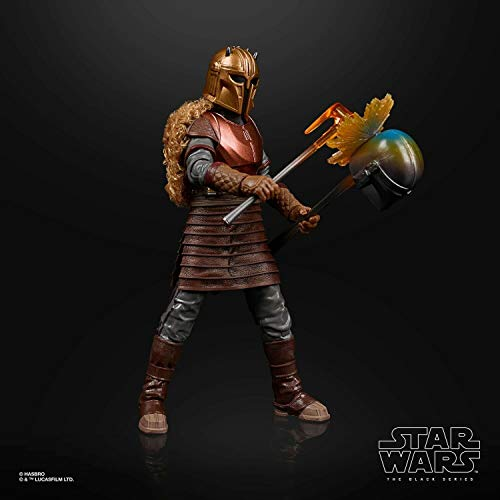 Star Wars The Black Series Mandalorian Armorer Exclusive 6' Action Figure